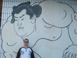 Sumo Hall in Rygoku, Tokyo