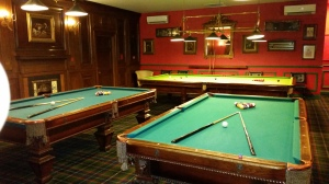 Billiards Room at Sandals Grande St Lucian