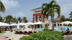 Sandals Grande St Lucian is a large, well appointed property with a large beach area.