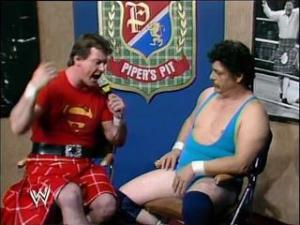 Roddy Piper and Frank Williams
